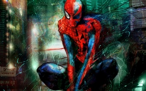 Picture labels, spider-man, costume, characters, spider man, super hero