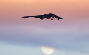 Picture Spirit, bomber, strategic, B-2A