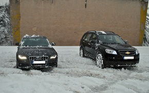 Picture Audi, Chevrolet, diesel, 4wd, Captiva, awd