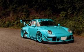 Wallpaper Rough, Porsche, porsche 911, tuning, car, carrera