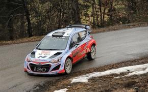 Picture Hyundai, WRC, Rally, Monte Carlo, i20, 2015, Neuville