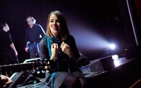Picture scene, singer, Alizée, Alizee Jacotey