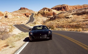 Wallpaper road, ferrari, 599gtb