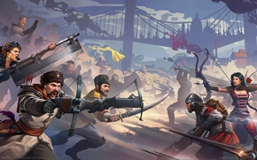 Wallpaper BattleCry, weapons, war, the game, swords, game wallpapers, crossbows