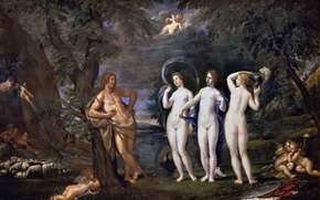 Picture picture, genre, Francesco Albani, The Judgment Of Paris