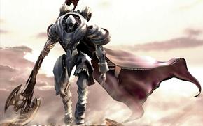 Picture Robot, Warrior, Axe