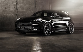 Wallpaper Porsche, Porsche, TechArt, Macan, makan