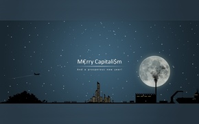 Wallpaper figure, capitalism, congratulations