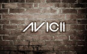 Picture style, music, wall, brick, house, Progressive house, AVICII, Electro house, avici