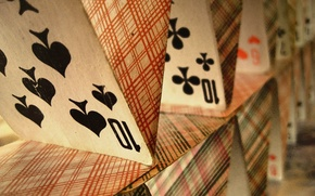 Picture Card, house of cards, deck