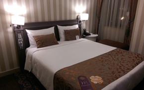 Picture bed, the hotel, the hotel