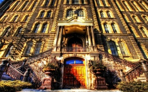 Picture city, hdr, home, facade