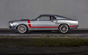Picture Mustang, Ford, 1965, Wheels, Concave, Forgeline