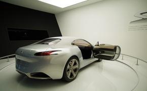 Picture prototype, concept car, peugot, future cars