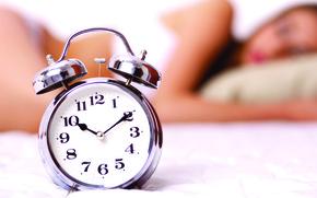 Picture alarm clocks, retro, metal