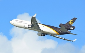 Picture the sky, flight, Cargo, McDonnell Douglas, airlines, MD-11F, UPS