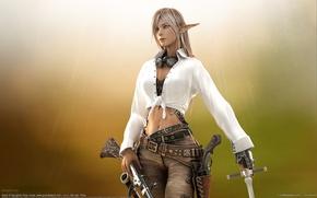 Wallpaper elf, the gun, Byunghee Choe