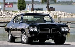 Picture Black, 1971, Car, Car, Black, Coupe, Pontiac, Wallpapers, Musclecar, Coupe, Hardtop, TRP, Wallpaper, Muscle, Hardtop, …