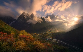 Picture mountains, landscapes, beauty, beautiful, view, Dalina