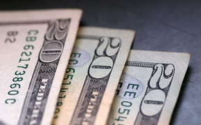 Wallpaper money, dollar