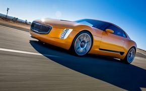 Picture Road, 2014, Pictures, Kia GT4 Stinger Concept, Sport Car