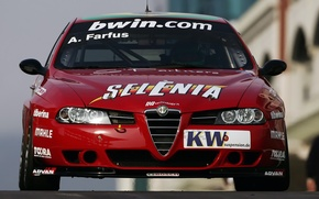 Picture Alfa Romeo, Sport, Race Car, Track, Alfa 156, Super 2000, Alfa Romeo 156 Super 2000, …