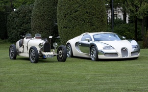 Wallpaper white, Bugatti, veyron
