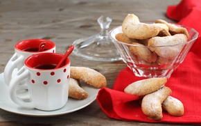 Picture coffee, cookies, Cup, cakes, spoon