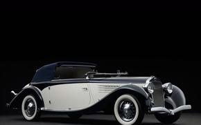 Picture vintage, retro, luxury, Cabriolet, 1936, Delage, Milord, Figoni et Falaschi