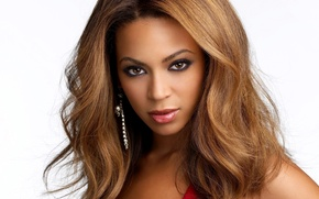Picture Brunette, Beyonce, Look, Singer, Makeup, Earrings, Backgrounds
