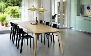 Picture design, house, style, room, interior, kitchen, dining room