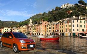 Picture the city, fiat, Portofino