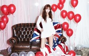 Picture girl, music, Asian, k-pop, South Korea, G.Na
