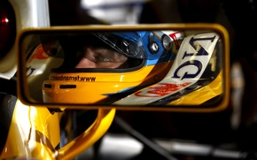 Picture reflection, Mirror, Formula 1, alonso