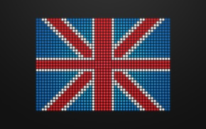 Picture glamour, flag, england