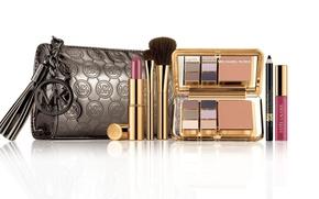 Picture Shine, lipstick, shadows, cosmetics, Estee-Lauder, cosmetic bag