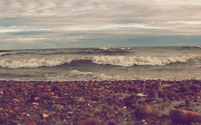 Picture treatment, ocean, Old