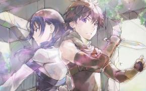 Picture Art, Grimgar of Fantasy and Ash, Hai to Gensou no Grimgar, Mary and Haruhiro