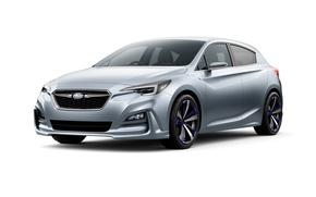 Wallpaper Concept, Subaru, Impreza, the concept, Subaru, Impreza