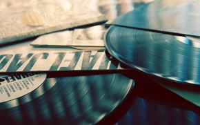 Picture music, music, records