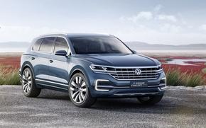 Wallpaper Concept, Volkswagen, the concept, Volkswagen, crossover, GTE, T-Prime