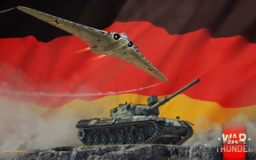 Picture Germany, Leopard1, War Thunder, Ho229