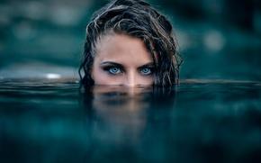 Picture girl, in the water, Killer, Alessandro Di Cicco