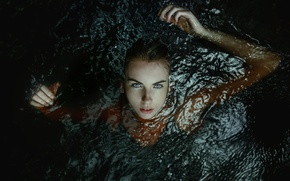 Picture girl, in the water, TJ Drysdale, Awaken
