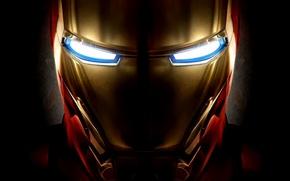 Picture iron man, Iron man, helmet, mask, movie, the film