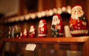 Picture Santa Claus, souvenir, Santa Claus, matryoshka