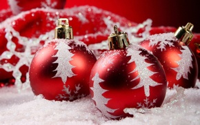 Picture balls, holiday, new year, the scenery, happy new year, christmas decoration, Christmas Wallpaper, christmas color