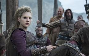 Picture look, Vikings, The Vikings, Katheryn Winnick, Lagertha