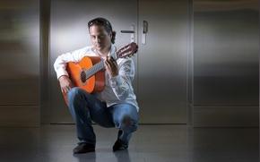Picture music, guitar, guitarist, David