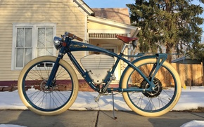 Picture Vintage, Review, E-Tracker, Electric Bikes